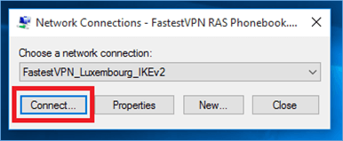Connect IKEv2 Protocol in Windows