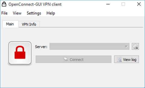 OpenConnect GUI VPN Client