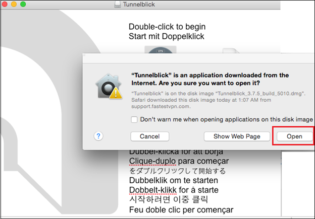 OpenVPN GUI Installation