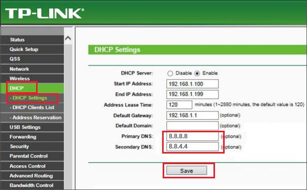 TPlink PPTP VPN Setup