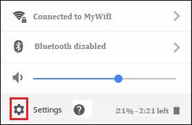 Chromebook L2TP VPN Setup